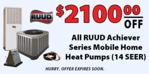 2100 Off All RUUD Achiever Series
